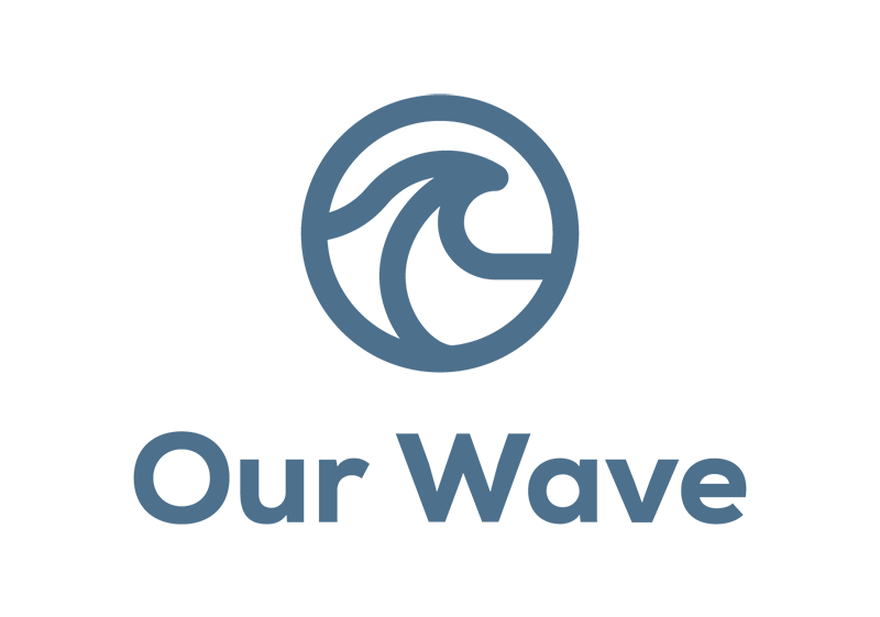 Our Wave Primary Blue Logo